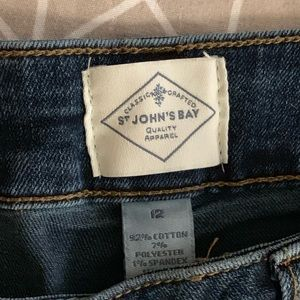 "Jean Shorts 9"" inseam perfect condition dark wash"